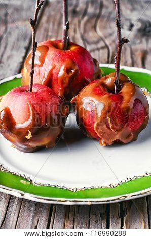 Three Apples In Caramel
