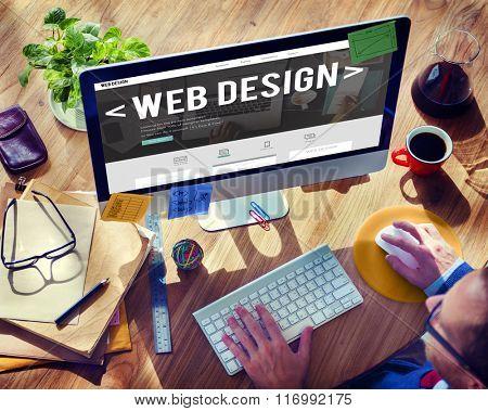 Web Design Website Homepage Ideas Programming Concept