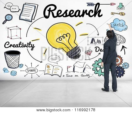 Research Searching Discovery Feedback Concept