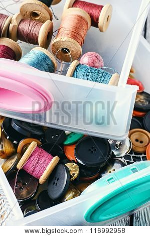 Set Of Sewing Kit