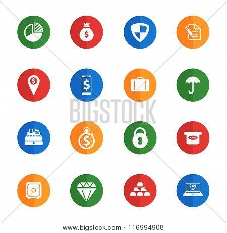 Finance simply icons
