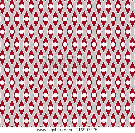 Red gray seamless pattern