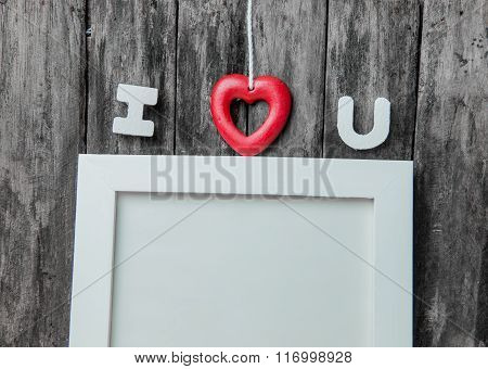 Love Frame For Valentine And Sweetest Day