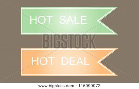 Hot Sale Symbols. Labels, Stickers