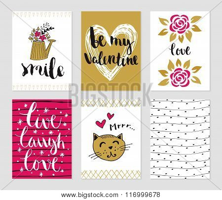 Valentines day and romantic collection