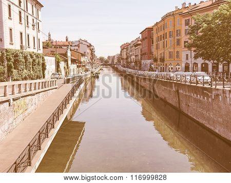 Naviglio Grande, Milan Vintage