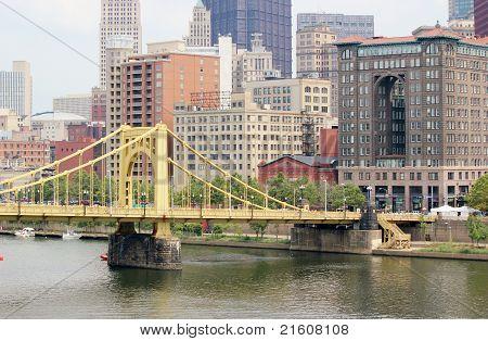Pittsburgh Pa. skyline