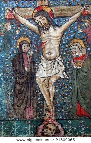 Crucifixion, Jesus dies on the cross