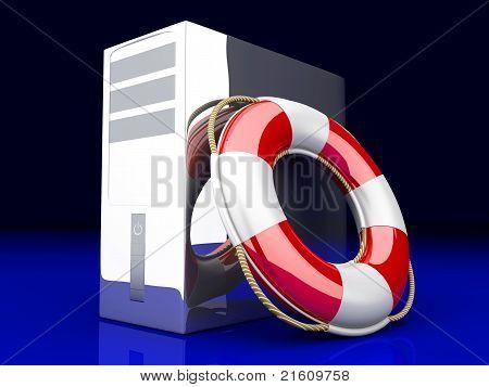 Desktop Pc Life Belt