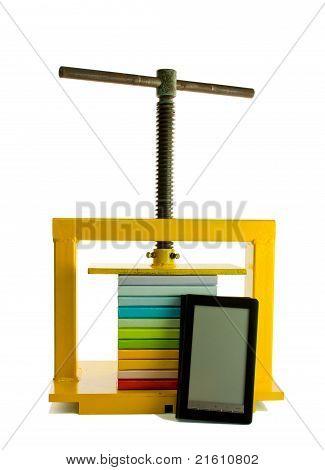 E-books Concept