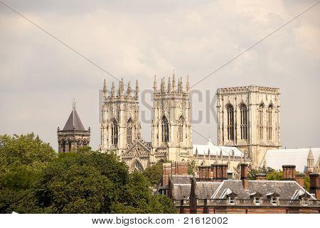 Three Towers Of York Minster