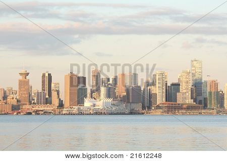 Vancouver Skyline, Trade and Convention Center