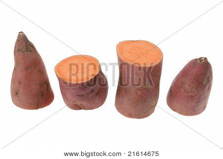 Slices Of Sweet Potato