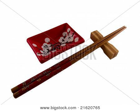 Chopsticks dish