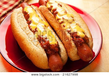 Queso de Chili Dogs