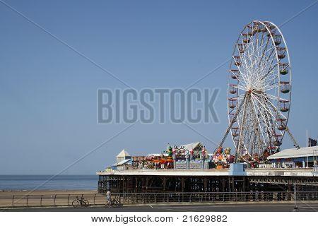 Ferris Wheel on Pier