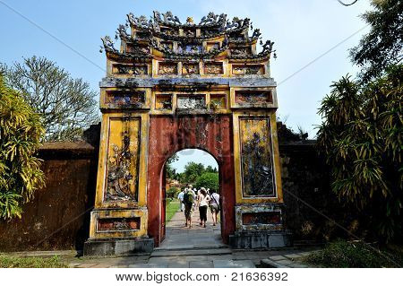 Imperial City Compound Gate