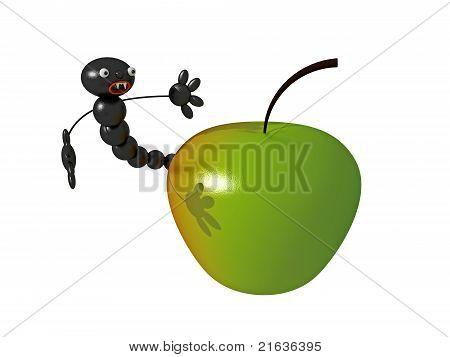 Worm-eaten Apple 3D