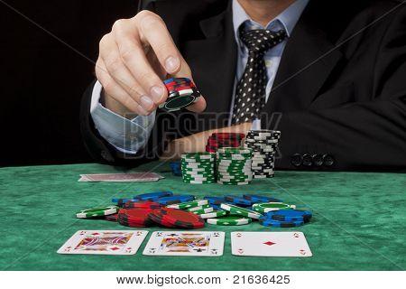 Placing A Bet