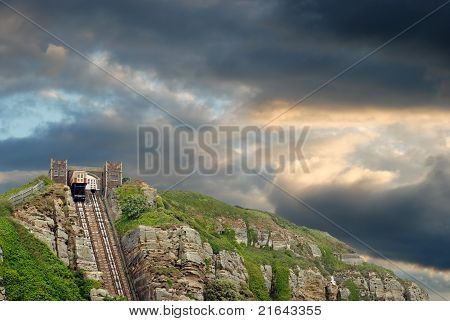 Hastings east hill lift England