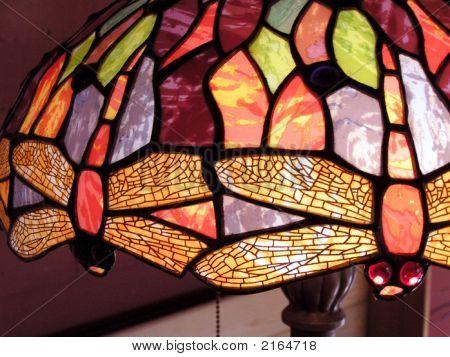 Tiffany-Style Dragonfly Lampshade
