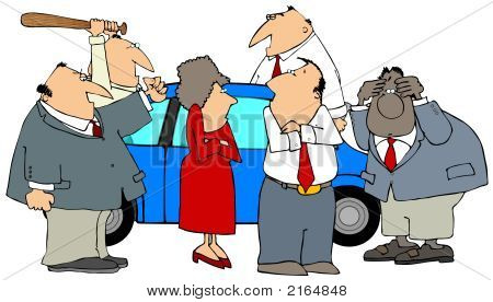Mad At A Car