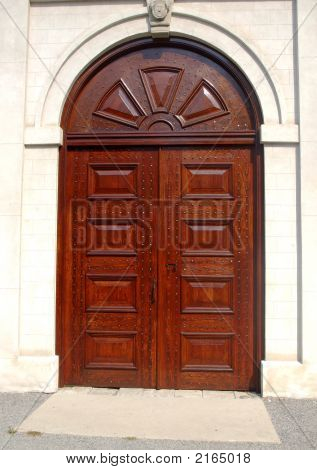 Antique Caslte Door