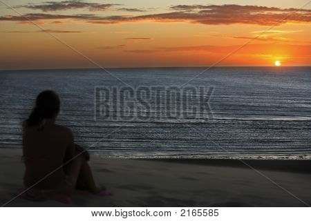 Sunset Of Jericoacoara