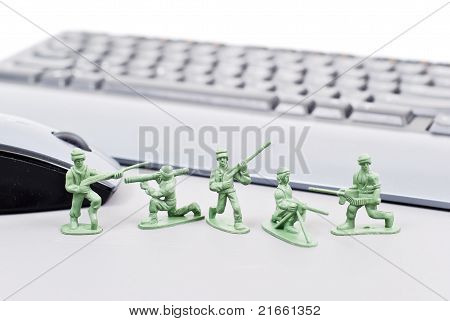 Computer Cyber Attack Protection