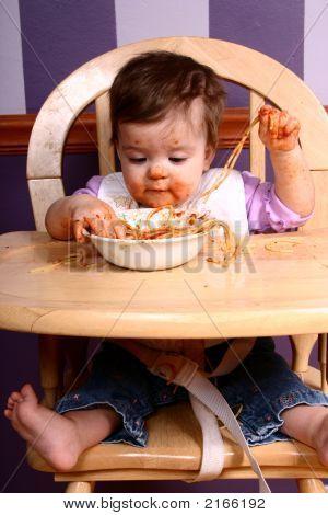 Messy Spaghetti Girl
