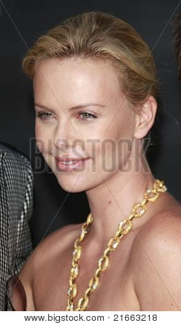 LOS ANGELES - JUN 30: Charlize Theron at the premiere of 'Hancock' in Los Angeles, California on June 30, 2008