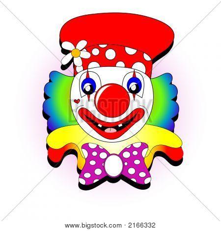 Clown Illustration.