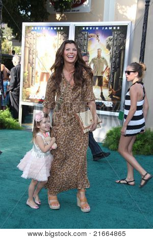 LOS ANGELES - JUL 6:  Ali Landry; Estela Ines Monteverde arriving at the