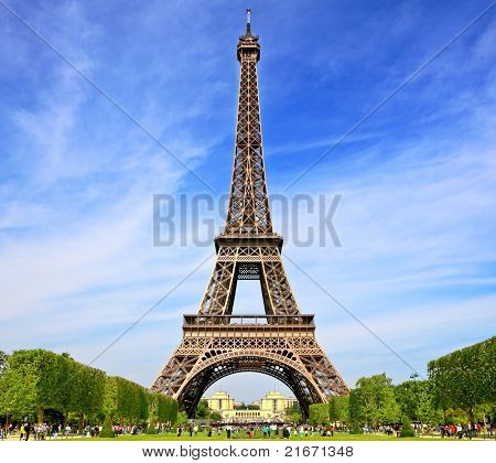 Symbol of Paris, France