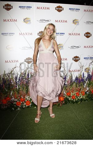 LOS ANGELES, CA - MAY 19: Kristanna Loken arrives at the 11th annual Maxim Hot 100 Party at Paramount Studios on May 19, 2010 in Los Angeles, California