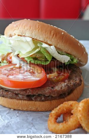 Fastfood Hamburger