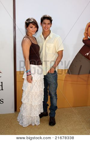 LOS ANGELES - JUL 10:  Fivel Stewart, Boo Boo Stewart arriving at the