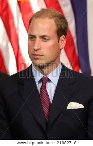 LOS ANGELES - JULY 10:  Prince William, Duke of Cambridge  The Duke And Duchess Of Cambridge attend The Mission Serve