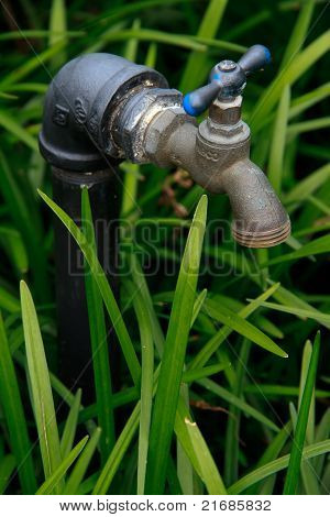 Outdoor Water Faucet