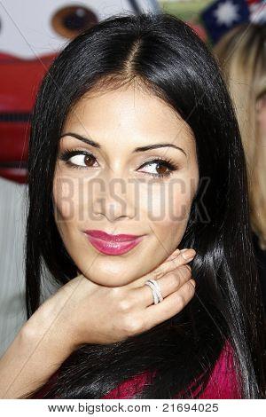 LOS ANGELES - JUN 18:  Nicole Scherzinger arriving at the