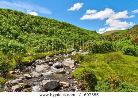 Lake District mountain stream