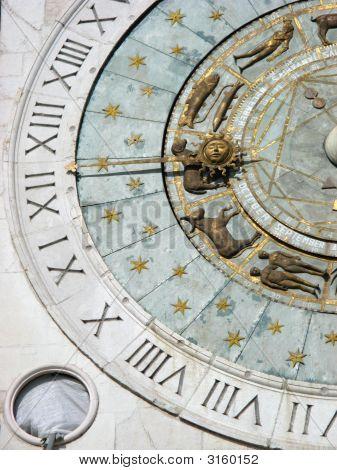 Zodiac Clock