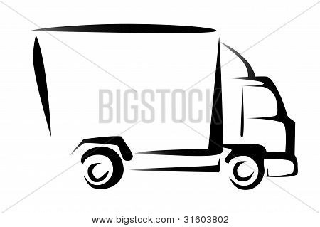 Truck, Cargo, Delivery Concept