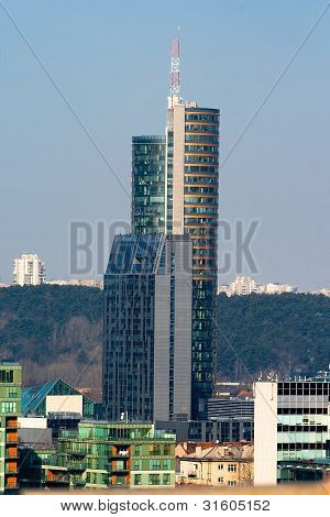 High-rise Building. Vilnius. Lithuania.