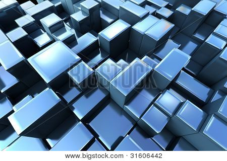 3D Abstract Graphic Background