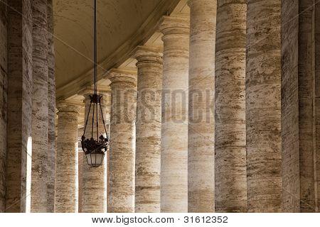 Colonnaded Walkway
