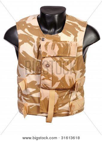 British ECBA body armour