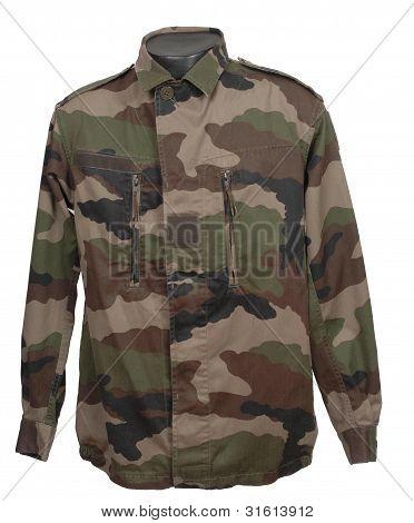 French camouflage jacket