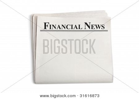 blank newspaper template powerpoint .