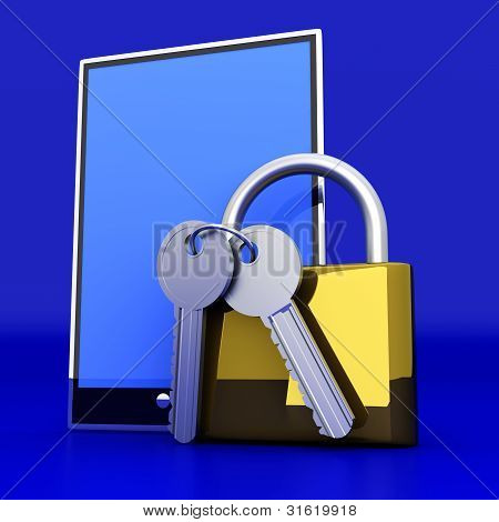 Secure Tablet Pc.